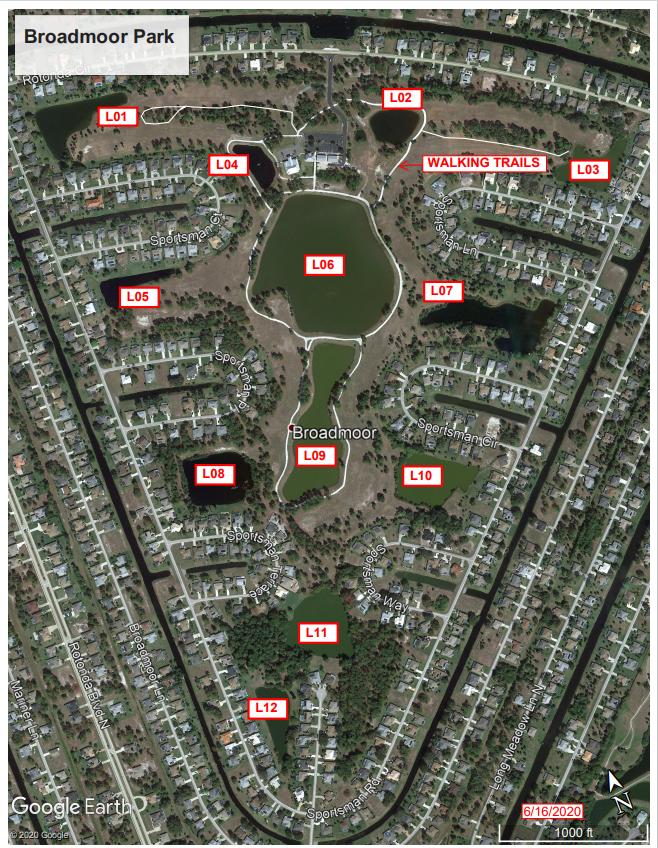 Map of Broadmoor Park